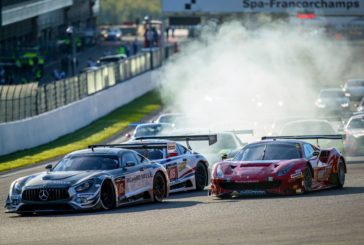Le 24h Series European Championship se poursuit avec les 12h Spa