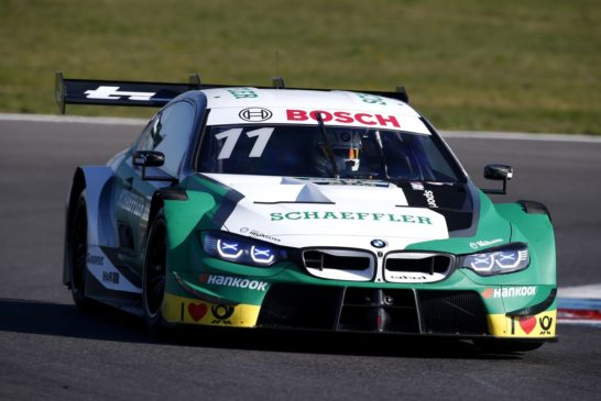 On to the season-opener with turbo power: BMW Motorsport completes final test ahead of 2019 DTM