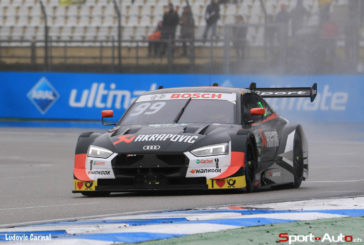 Double podium for the new Audi RS 5 DTM