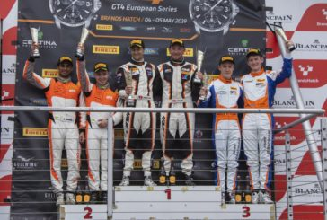 Win and podium for Patric Niederhauser at Brands Hatch