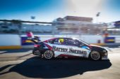 Simona De Silvestro leads the Kelly crew in Perth Race One