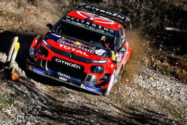 The C3 WRC remains second ahead of final sprint