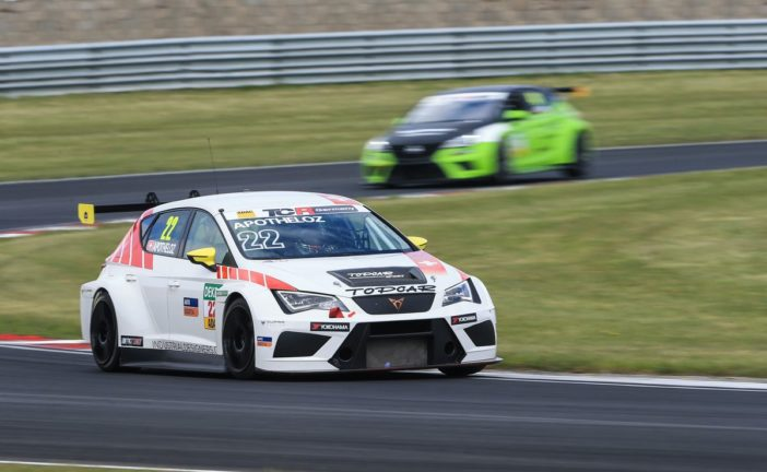 ADAC TCR Germany – Top 10 pour Julien Apothéloz