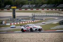 Lexus LC takes 24th position overall at QF race for Nürburgring 24 hours endurance race