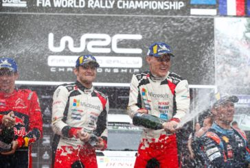 Tänak and the Toyota Yaris WRC conquer a new rally in Chile