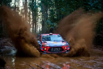 Thierry Neuville holds fourth place and finds himself in an early fight for the provisional podium positions, despite starting first on the road