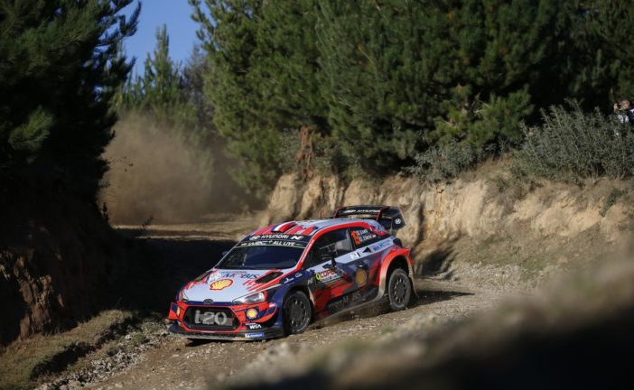 WRC – Sébastien Loeb provisionally holds the final podium place