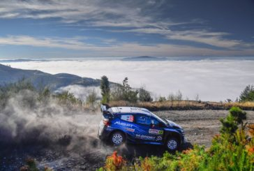 WRC – Two Fiesta in the Top Five