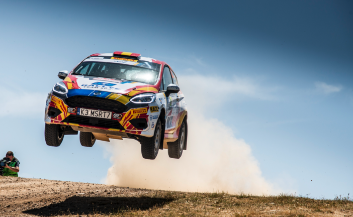 Solans becomes third different winner in 2019 FIA Junior WRC