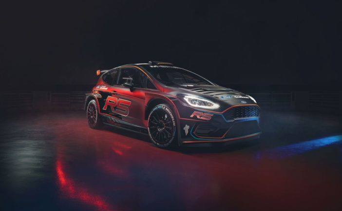 Lefebvre takes to the Ford Fiesta R5 MK II