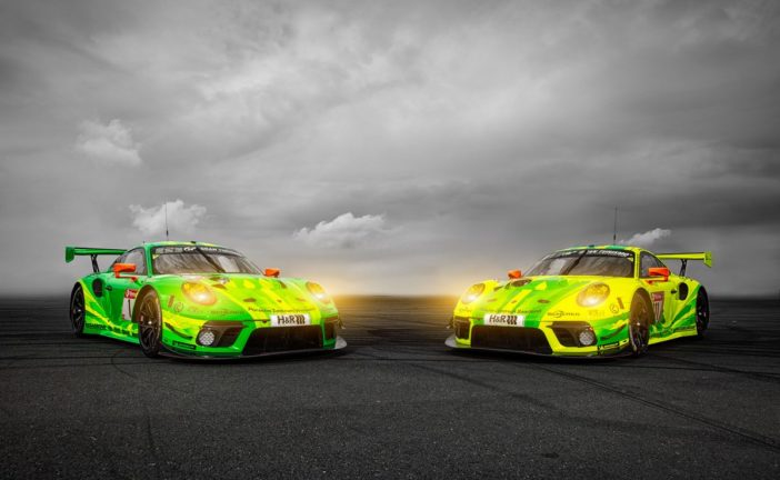 Porsche aims to defend its title in the Eifel with the new 911 GT3 R