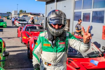 Hook leads from start to finish to take first Blancpain GT Sports Club victory in Misano opener