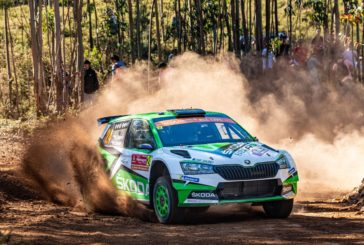 Jan Kopecký leads WRC 2 Pro category at WRC debut of Škoda Fabia R5 evo