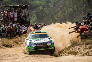 Rovanperä and Kopecký lead field of R5 cars at WRC debut of Škoda Fabia R5 evo