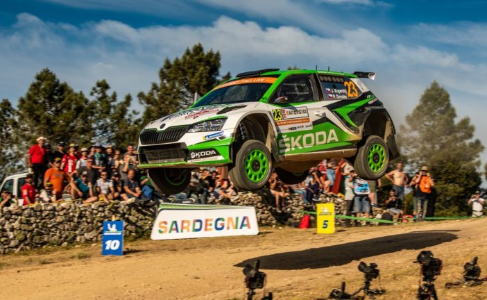 Double victory at WRC 2 Pro category by Kalle Rovanperä and Jan Kopecký