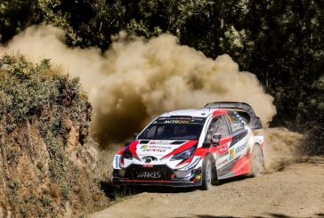 WRC – A 1-2-3 for the Toyota Yaris WRC after the opening day