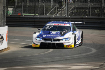 Eriksson on the podium for BMW at the Norisring – Four BMW M4 DTMs in the points
