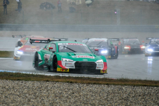 DTM – Double podium for Audi in rain battle at Assen