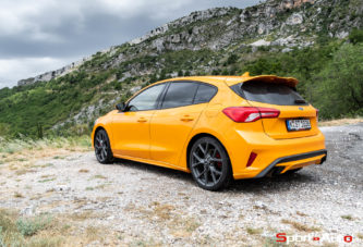 Essai – Ford Focus ST MY2019