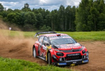 The C3 WRC all set to show off its acrobatic talents !