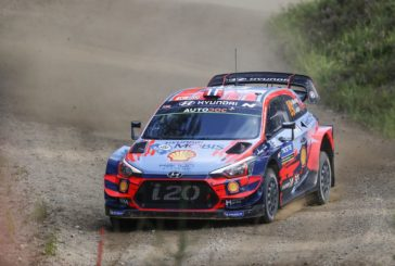 Hyundai Motorsport has enjoyed another encouraging day at Rally Finland