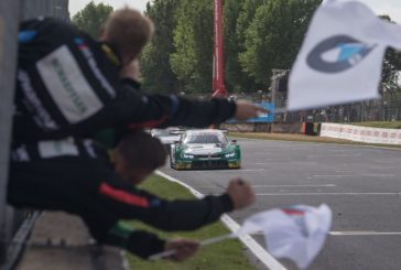 Marco Wittmann claims his fourth win of the season for BMW at Brands Hatch – Three BMW M4 DTMs in the top ten.