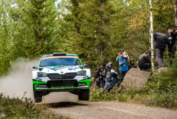 Rovanperä keeps everything under control for Škoda in WRC 2 Pro category