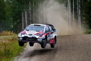 WRC – Tänak takes over on top for Toyota Gazoo Racing