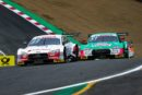 Heading for DTM at the Nürburgring neck and neck