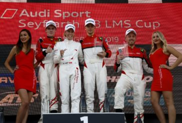 Audi Sport Seyffarth R8 LMS Cup – Rahel Frey achieves double victory