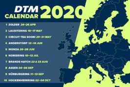 2020 vision: DTM expands across Europe; adds more races to next year's calendar