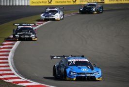 Eng best-placed BMW driver in eighth place at Sunday's Nürburgring race.