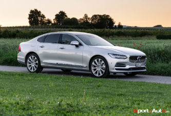 Essai – Volvo S90 T8 Twin Engine