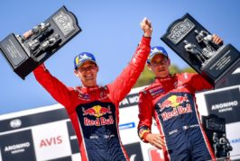 WRC – Citroën claims a one-two finish and moves back into the title hunt !