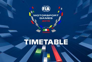 Provisional timetable revealed ahead of inaugural FIA Motorsport Games