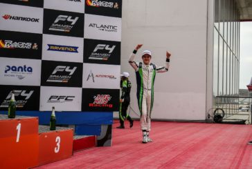 Formula 4 – Axel Gnos on the podium in Portimao
