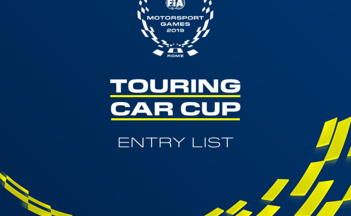 20 Touring Car Cup entries confirmed for FIA Motorsport Games