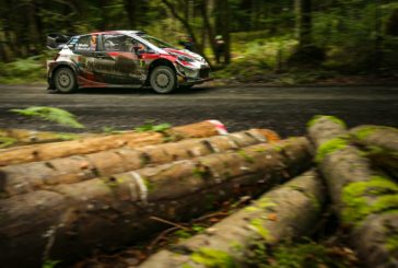 Meeke takes an early lead for Toyota Gazoo Racing in Britain