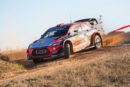 Sébastien Loeb ended Friday with a 1.7-second advantage over his team-mate Thierry Neuville