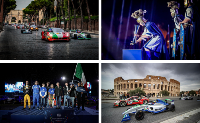 FIA Motorsport Games launches in Rome with spectacular parade and opening ceremony
