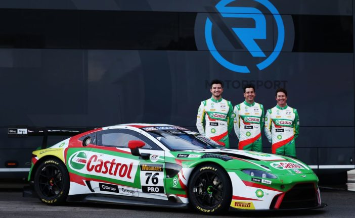 R-Motorsport set to line up with Rick Kelly, Scott Dixon and Jake Dennis in one of their Aston Martin Vantage GT3 as part of an exciting new partnership with Castrol, BP and Giltrap Group to contest the Liqui Moly Bathurst 12 Hour together