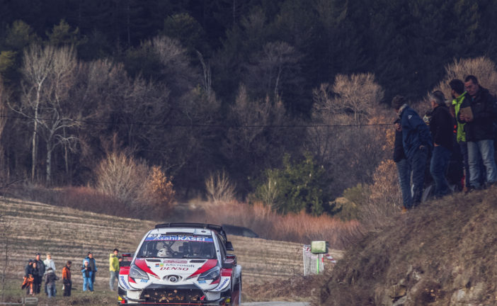 WRC – Evans leads a close fight into the final day for Toyota Gazoo Racing