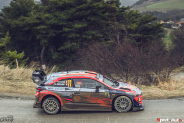 WRC – Overnight leader Thierry Neuville dropped to third but remains just 6.4-seconds from the rally leader