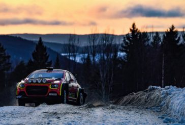 WRC action for the Citroën C3 R5 in 2020