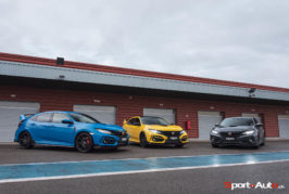 Track Day Legends Magazine en Honda Civic Type R